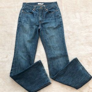 J Crew Boot Cut Denim Jeans Size 2